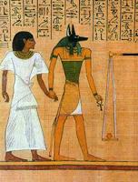 Анубис - египетский бог, покровитель умерших