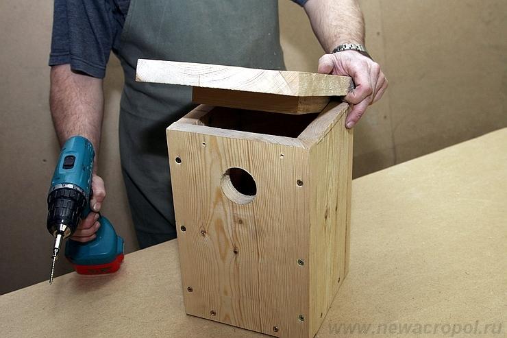 как сделать избушку на курьих