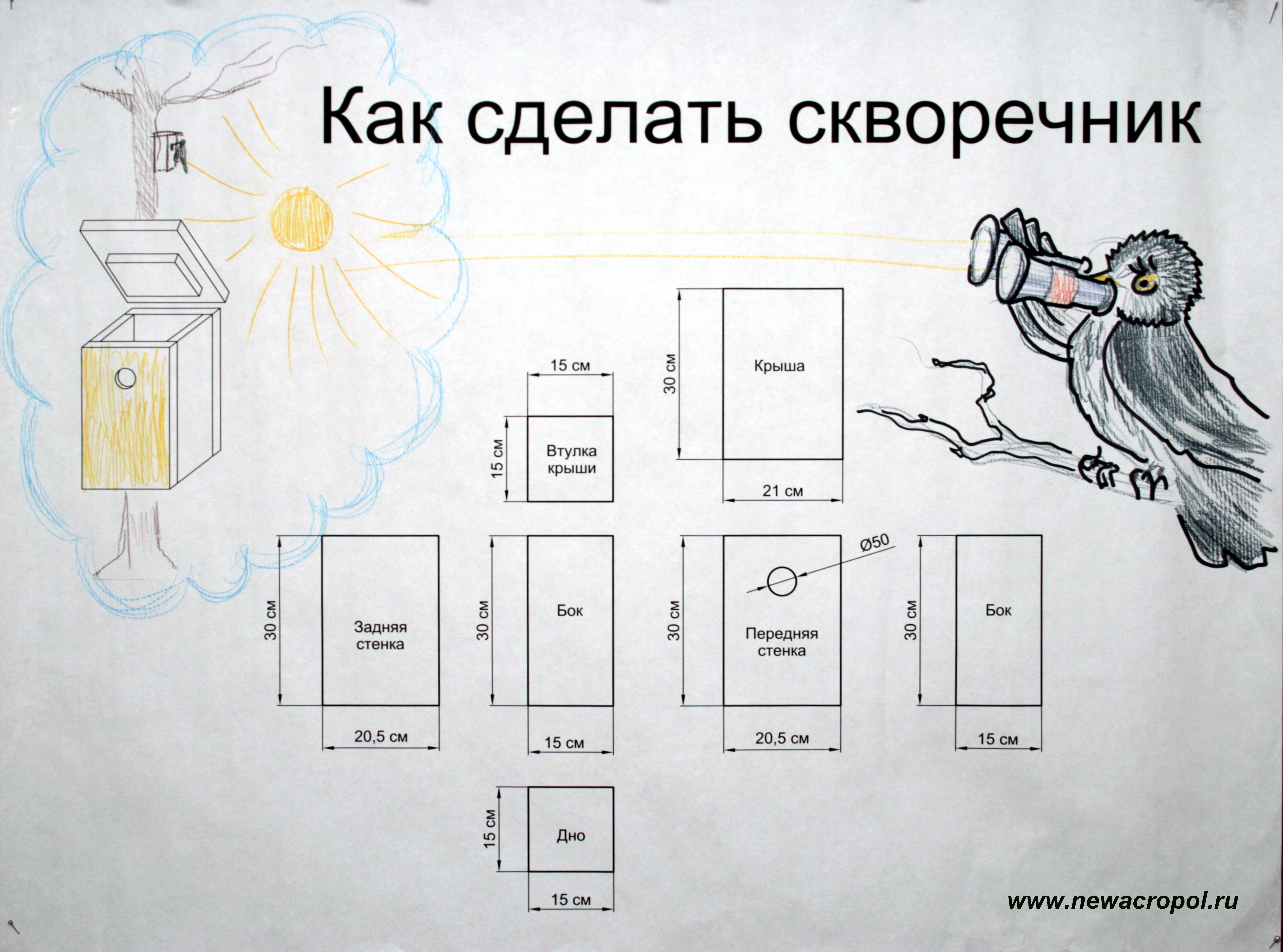 Плакат сделать своими руками