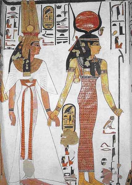 Жесткие правила и развратный секс Древнего Египта