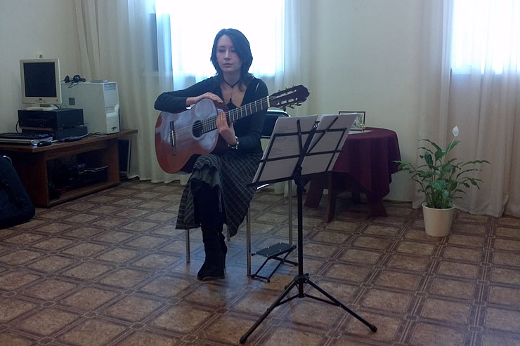 Культурный центр «Новый Акрополь». Программа «Музыка ручной работы»