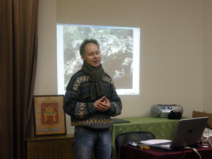На фестивале «Философия как образ жизни» у нас в гостях директор Ботанического сада ТвГУ Юрий Наумцев