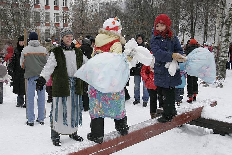 Конкурсы для проведения зимнего праздника