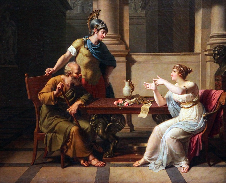 an analysis of the debate between polemarchus and socrates on the topic of justice Socrates argues (from about 352d-354a) for a connection between justice and happiness that is the exact opposite of thrasymachus' view the conclusions are at 354a1-8 the argument here was probably not persuasive even for plato's audience in ancient times.
