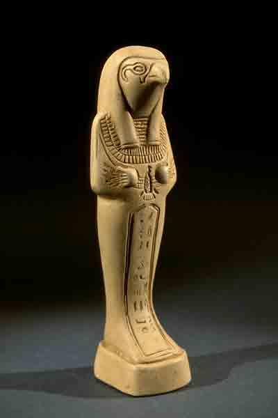 В Египте Гаруда изображался как Птах.