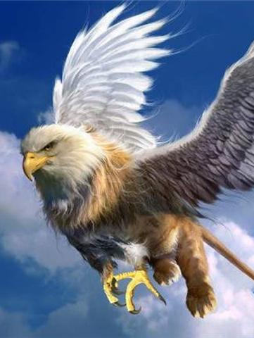 Летящий грифон