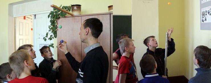 Наша поездка в детский дом-интернат в Богучаре