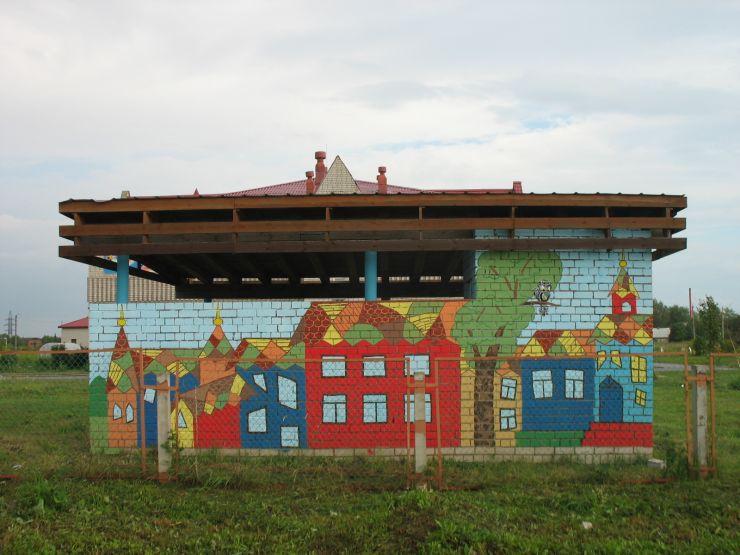 Теплый дом в северном Каргополе